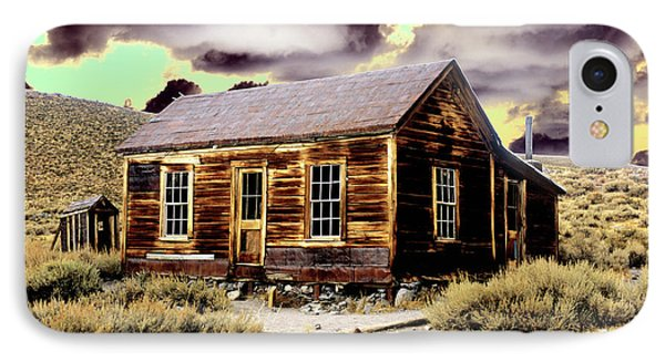 IPhone Case featuring the photograph Bodie House by Jim and Emily Bush