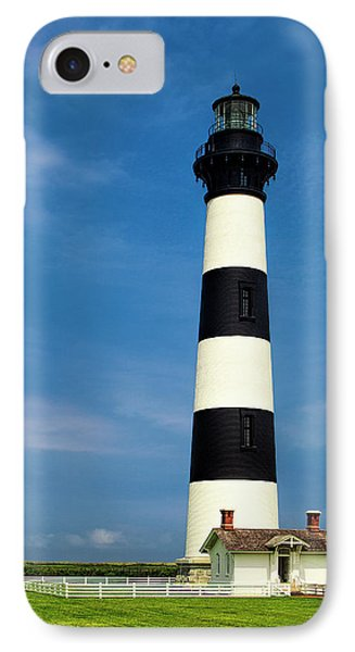 IPhone Case featuring the photograph Bodie Island Lighthouse by Andrew Soundarajan