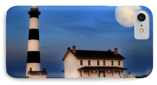 IPhone Case featuring the photograph Bodie Island Lighthouse by Cindy Haggerty