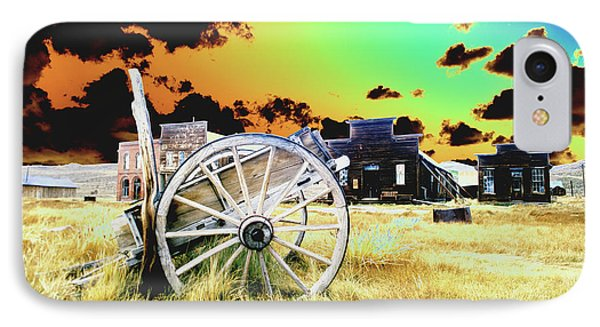 IPhone Case featuring the photograph Bodie Wagon by Jim and Emily Bush
