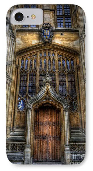 Bodleian Library Door - Oxford IPhone Case by Yhun Suarez