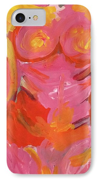 IPhone Case featuring the painting Body Image by Kim Nelson