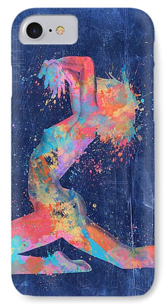 Bodyscape In D Minor - Music Of The Body IPhone Case by Nikki Marie Smith