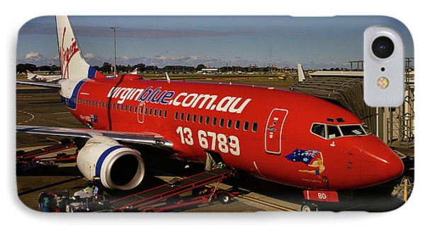 IPhone Case featuring the photograph Boeing 737-7q8 by Tim Beach