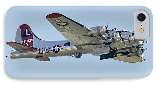 Boeing B-17g Flying Fortress IPhone Case by Alan Toepfer