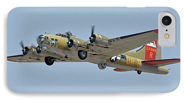 Boeing B-17g Flying Fortress N93012 Nine-o-nine Phoenix-mesa Gateway Airport Arizona April 15, 2016 Phone Case by Brian Lockett
