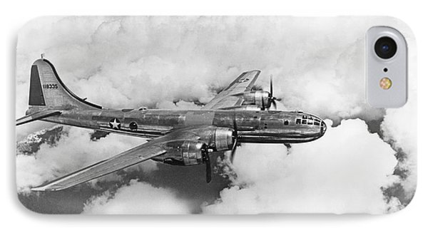 Boeing B-29 Superfortress IPhone Case by Underwood Archives