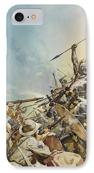Boers Fighting Natives IPhone Case