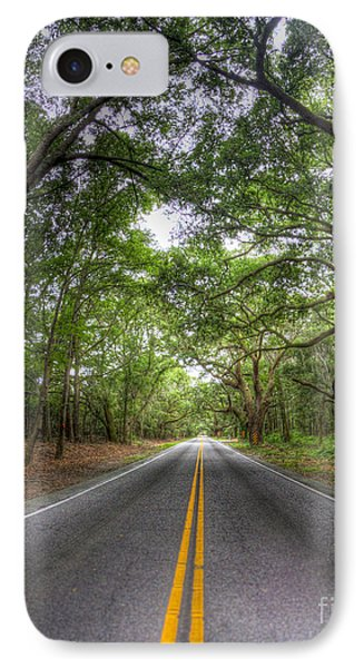 Bohicket Road Johns Island South Carolina Phone Case by Dustin K Ryan