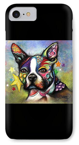 Boston Terrier IPhone Case by Patricia Lintner