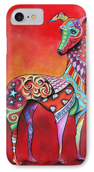 Italian Greyhound  IPhone Case by Patricia Lintner