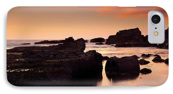 Boiler Bay Sunset Phone Case by Mike  Dawson
