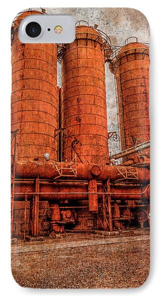 boilers at Sloss Phone Case by Phillip Burrow