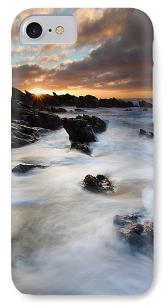 Boiling Tides IPhone Case by Mike  Dawson