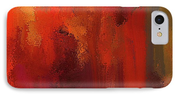 Bold Colors Abstract Art IPhone Case by Lourry Legarde