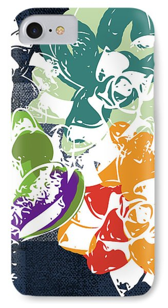 Bold Succulents 1- Art By Linda Woods IPhone Case by Linda Woods