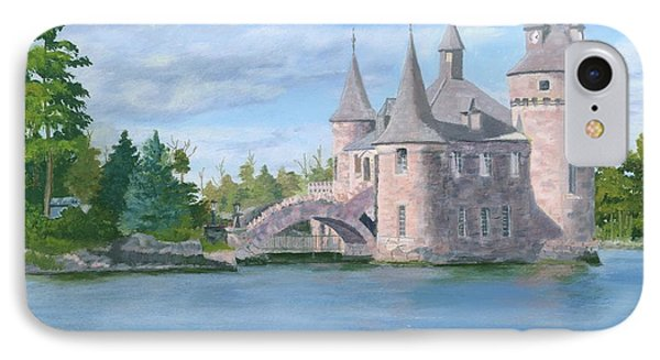 IPhone Case featuring the painting Boldt's Power House by Lynne Reichhart