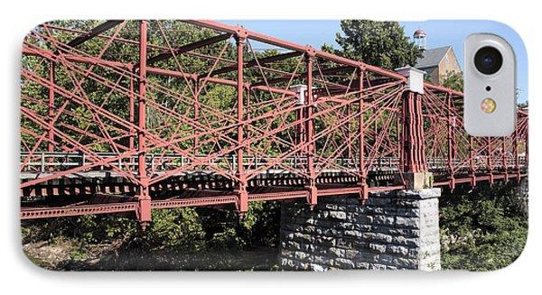 Bollman Truss Bridge At Savage In Maryland IPhone Case