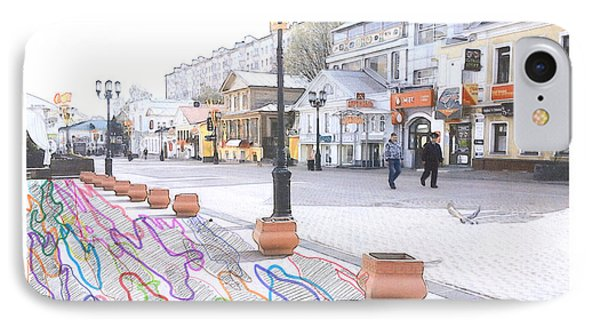 Bolshaya Pokrovskaya Street, Nizhny Novgorod. 10 March, 2015 IPhone Case