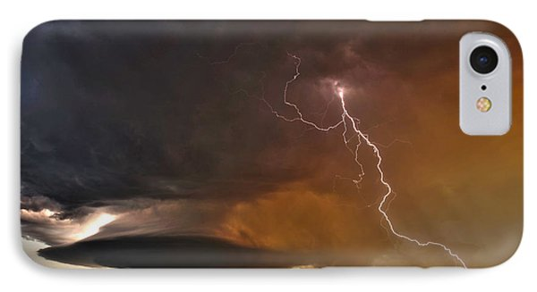 IPhone Case featuring the photograph Bolt From The Heavens. by James Menzies