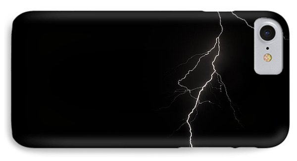 Bolts On Lake Houston IPhone Case by Allen Biedrzycki