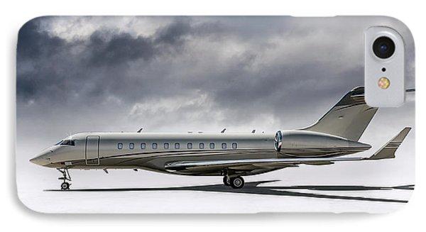 Jet iPhone 7 Case - Bombardier Global 5000 by Douglas Pittman