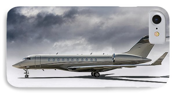 Bombardier Global 5000 IPhone Case by Douglas Pittman