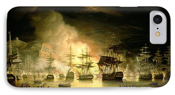 Bombardment Of Algiers IPhone Case by Thomas Luny