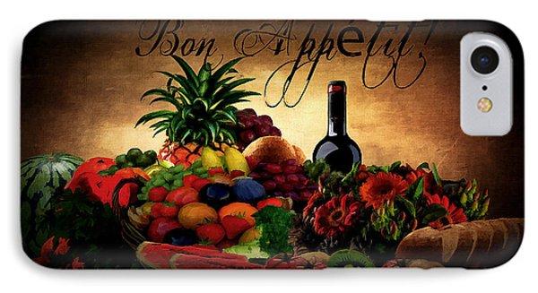 Bon Appetit IPhone Case