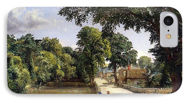 Bonchurch Isle Of Wight IPhone Case by Jasper Francis Cropsey