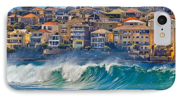 Bondi Waves IPhone Case by Az Jackson