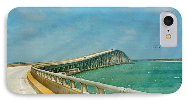 Bonner Bridge - Highway 12 Nc Phone Case by Anne Kitzman