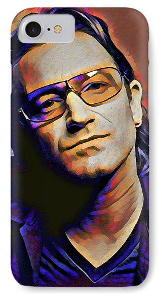 Bono IPhone Case by Gary Grayson