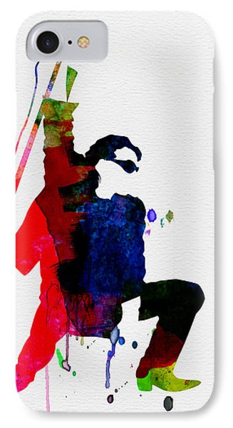 Bono Watercolor IPhone 7 Case by Naxart Studio