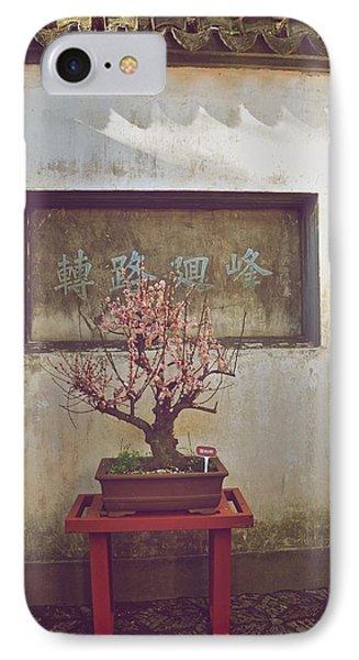 Bonsai Cherry Tree IPhone Case