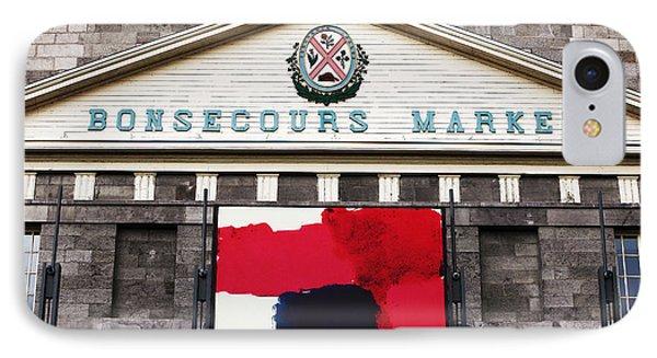 Bonsecours Market Phone Case by John Rizzuto