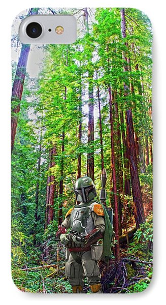Boba IPhone Case by Thomas M Pikolin
