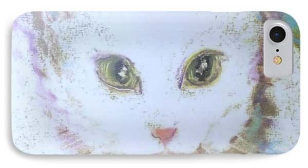 Book Misty My Cat IPhone Case by Denise Fulmer