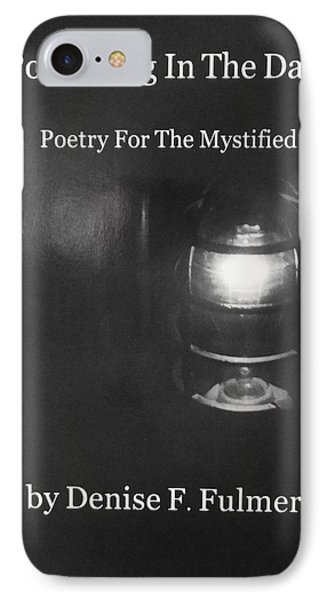 Book Pondering In The Dark IPhone Case by Denise Fulmer
