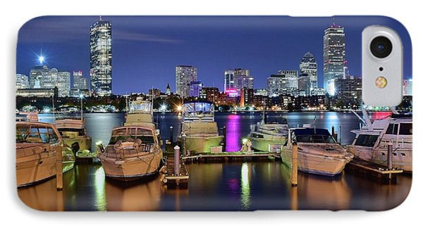 Bookends And Boats IPhone Case by Frozen in Time Fine Art Photography