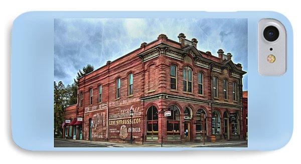 Boomtown Saloon Jacksonville Oregon IPhone Case