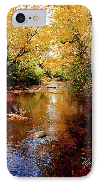 IPhone Case featuring the photograph Boone Fork Stream by Meta Gatschenberger