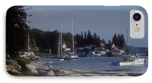 Boothbay Harbor In Maine IPhone Case