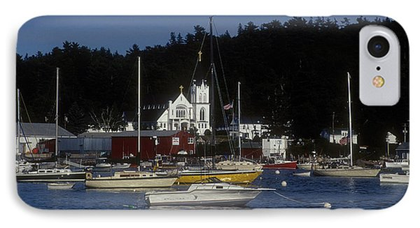 Boothbay Harbor Maine 2 IPhone Case