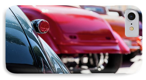 IPhone Case featuring the photograph Boots Of Colorful Cars by Lora Lee Chapman