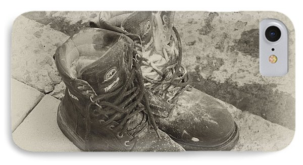 Boots Reno IPhone Case by Ann Tracy