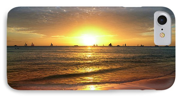 boracay,Philippians 4 IPhone Case by Mark Ashkenazi