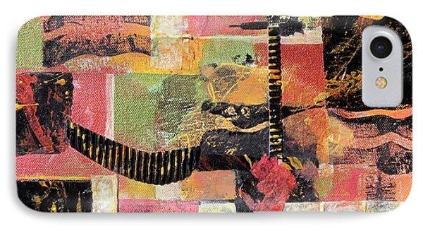 Bordeaux Phone Case by Deborah Ronglien