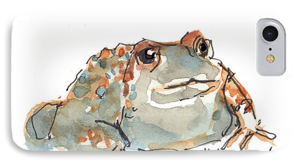 Boreal Chorus Frog IPhone Case by Kathleen McElwaine