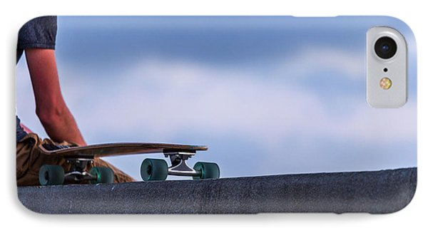 Bored Board IPhone Case by Peter Tellone